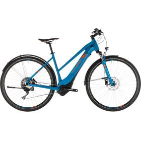 Cube Cross Hybrid Race 500 Allroad Bicicletta elettrica da cross Trapeze blu